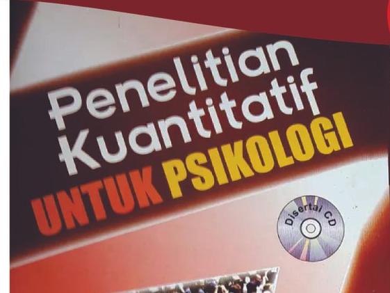 Buku Penelitian Kuantitatif untuk Psikologi Menjadi Referensi Nasional